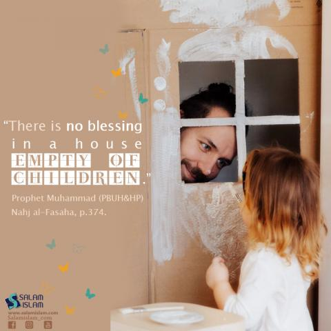 The Blessing in a House