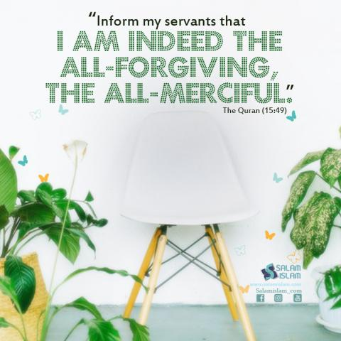 Allah is All forgiving and All Merciful